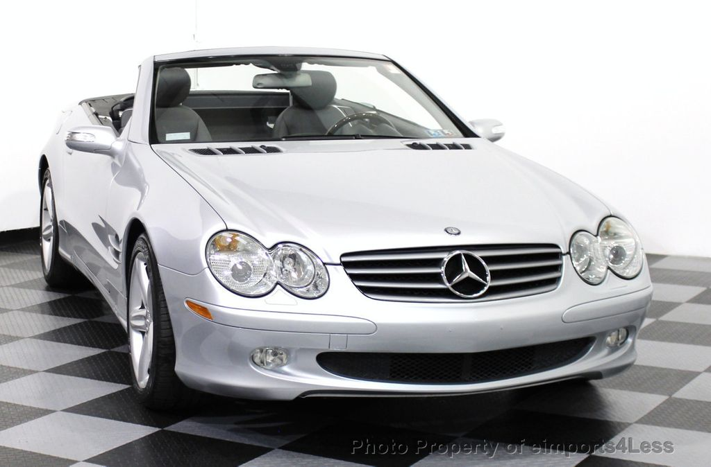 2006 used mercedes benz sl class sl500 2dr roadster 5 0l for Used mercedes benz sl500