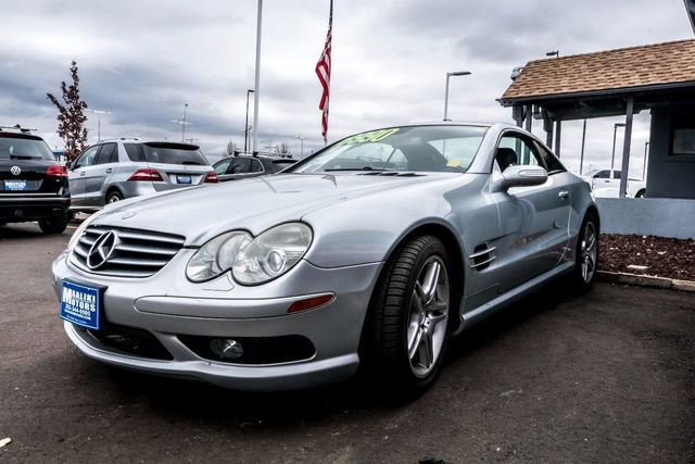 2006 Used Mercedes Benz Sl Class Sl500 2dr Roadster 5 0l