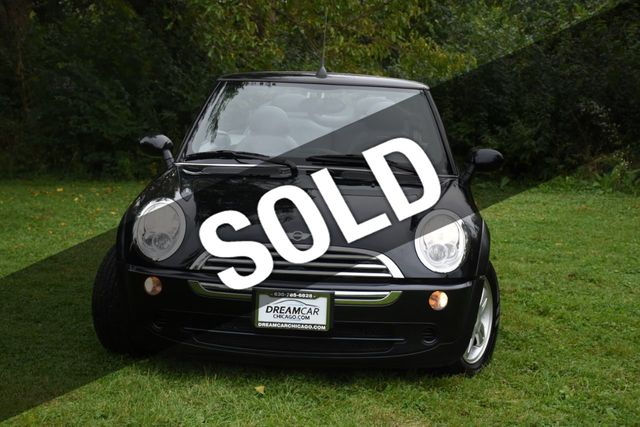 Used Mini Cooper Convertible >> 2006 Used Mini Cooper Convertible At Dream Car Chicago Inc Serving Villa Park Il Iid 19382638