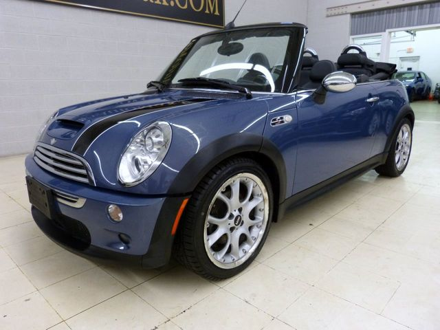 2006 Mini Cooper S Convertible 2dr Click To See Full Size Photo