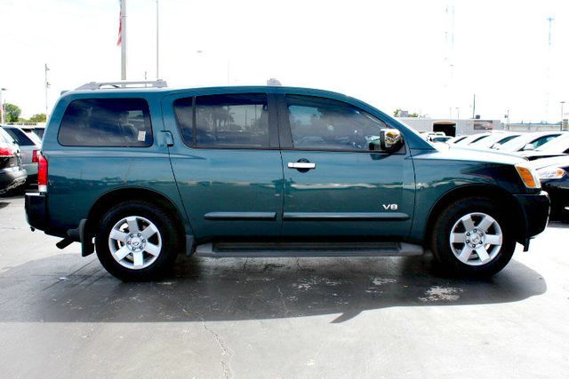 2006 used nissan armada le 2wd at a luxury autos serving miramar fl iid 14699962. Black Bedroom Furniture Sets. Home Design Ideas
