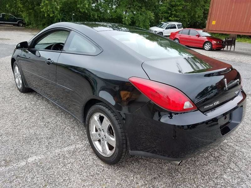 2006 used pontiac g6 gt v6 coupe at contact us serving. Black Bedroom Furniture Sets. Home Design Ideas