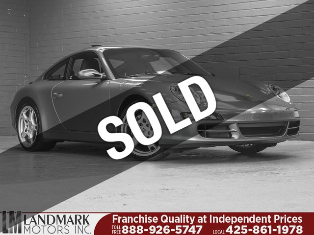 2006 Used Porsche 911 2dr Coupe Carrera At Landmark Motors Inc Serving Seattle Bellevue Wa Iid 19251168