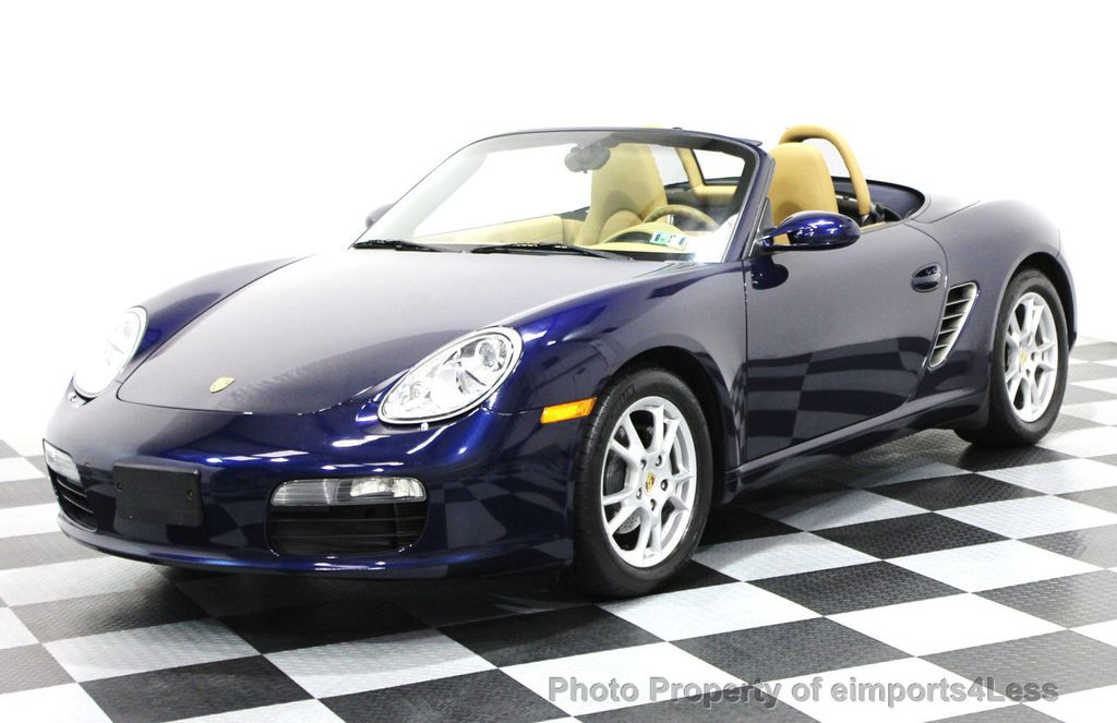 2006 used porsche boxster certified boxster convertible. Black Bedroom Furniture Sets. Home Design Ideas