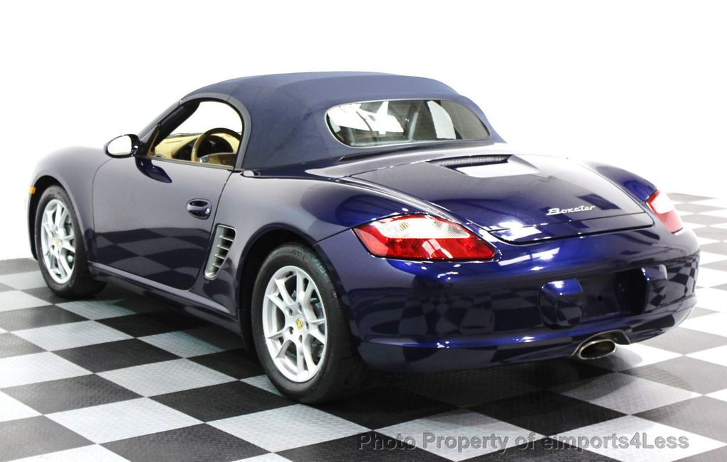 2006 Porsche Boxster CERTIFIED BOXSTER CONVERTIBLE TIPTRONIC - 16403553 - 25