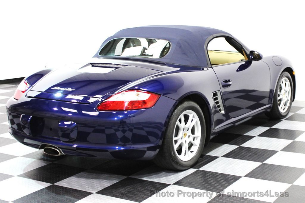 2006 Porsche Boxster CERTIFIED BOXSTER CONVERTIBLE TIPTRONIC - 16403553 - 26