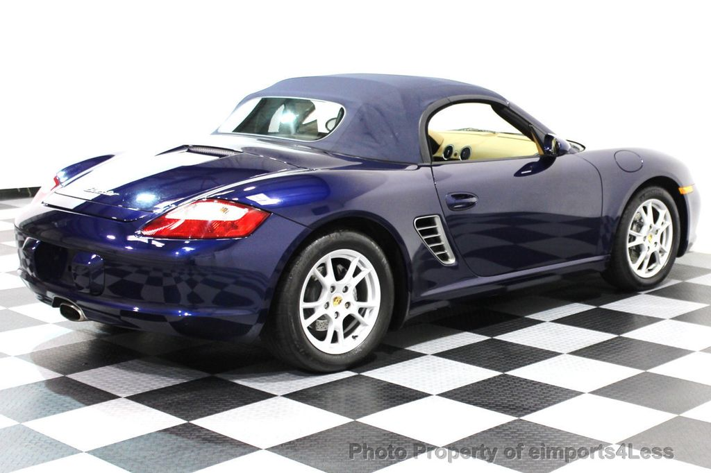 2006 Porsche Boxster CERTIFIED BOXSTER CONVERTIBLE TIPTRONIC - 16403553 - 3