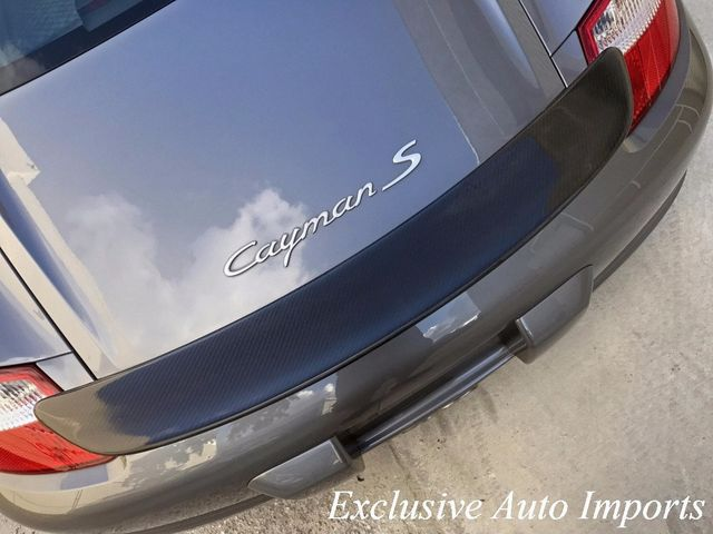 2006 Porsche Cayman  CAYMAN S 6SPEED MANUAL LOW MILES UPGRADES CHAMPION CARBON FIBER - Click to see full-size photo viewer