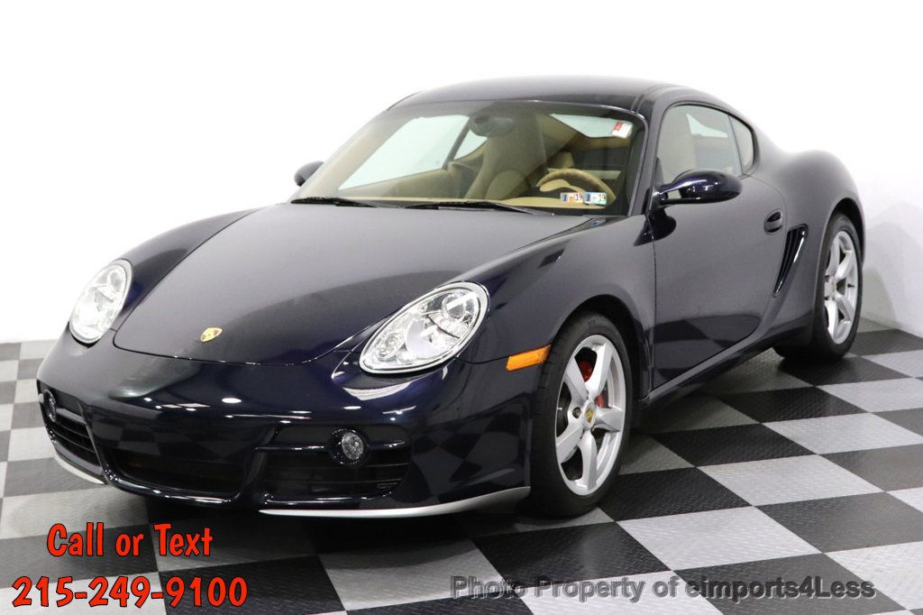 2006 Porsche Cayman CERTIFIED CAYMAN S AUTO HEATED SEATS BOSE - 18587056 - 0