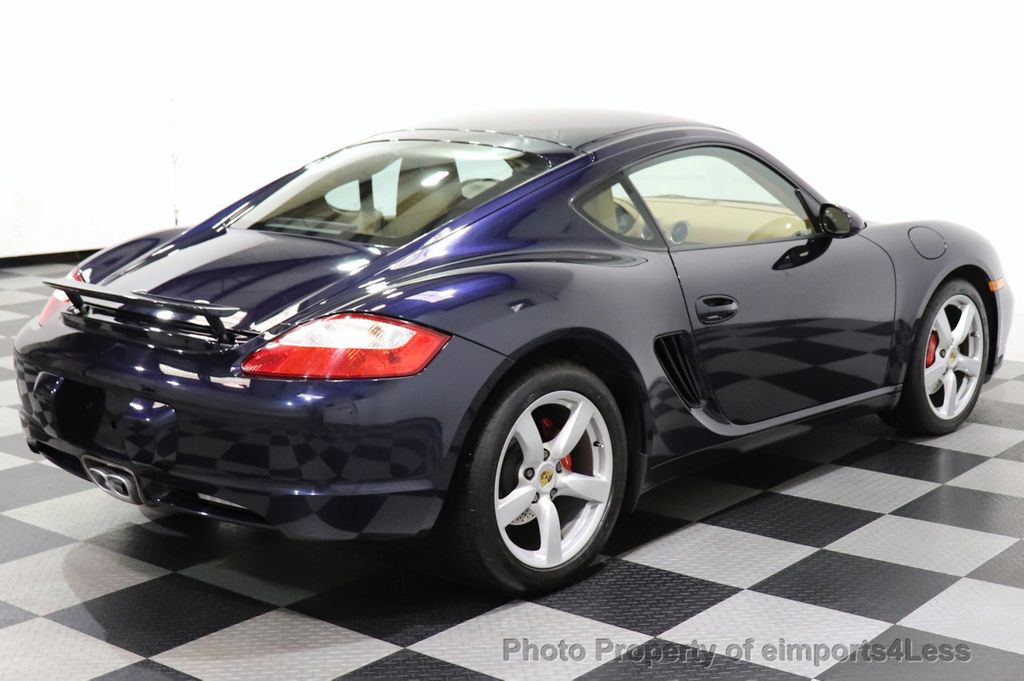 2006 Porsche Cayman CERTIFIED CAYMAN S AUTO HEATED SEATS BOSE - 18587056 - 13