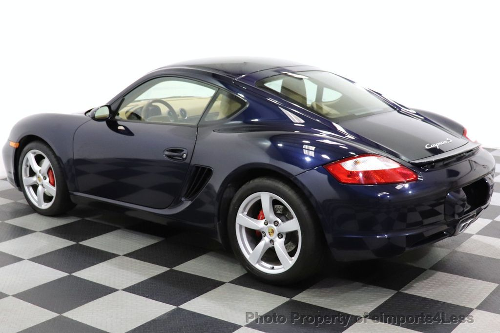 2006 Porsche Cayman CERTIFIED CAYMAN S AUTO HEATED SEATS BOSE - 18587056 - 24