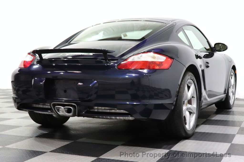 2006 Porsche Cayman CERTIFIED CAYMAN S AUTO HEATED SEATS BOSE - 18587056 - 26
