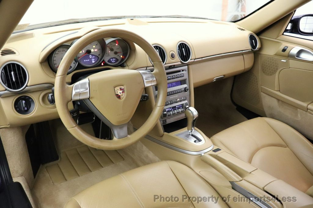 2006 Porsche Cayman CERTIFIED CAYMAN S AUTO HEATED SEATS BOSE - 18587056 - 27