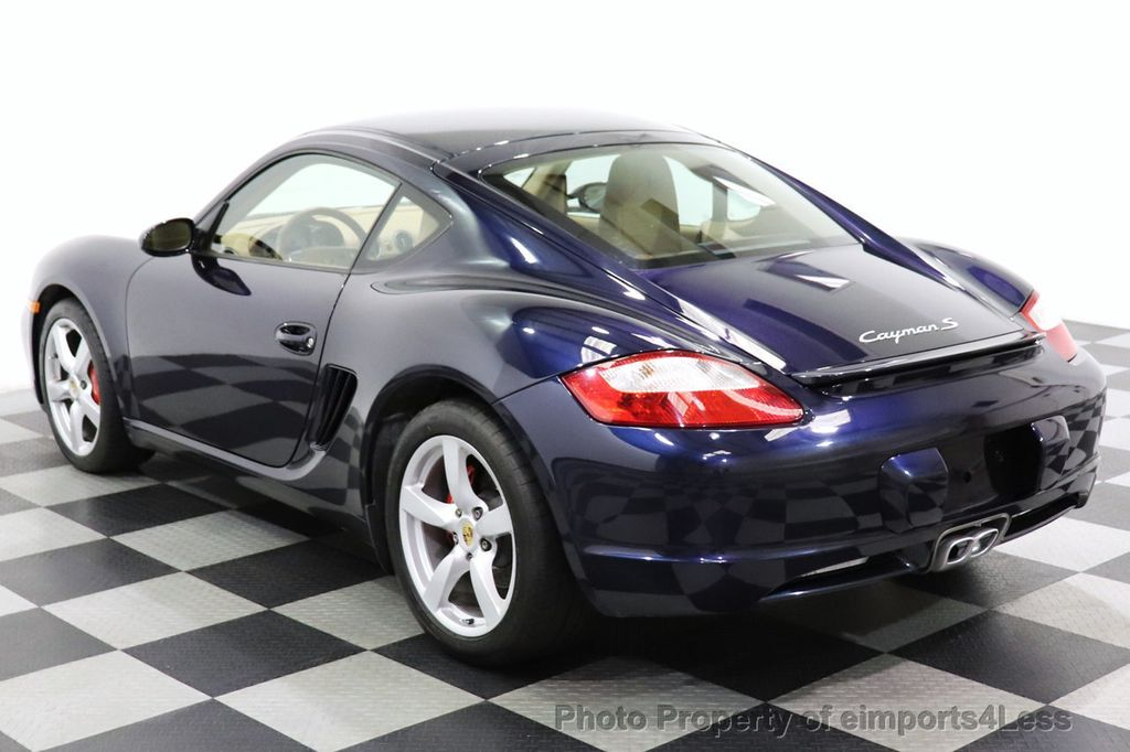 2006 Porsche Cayman CERTIFIED CAYMAN S AUTO HEATED SEATS BOSE - 18587056 - 2