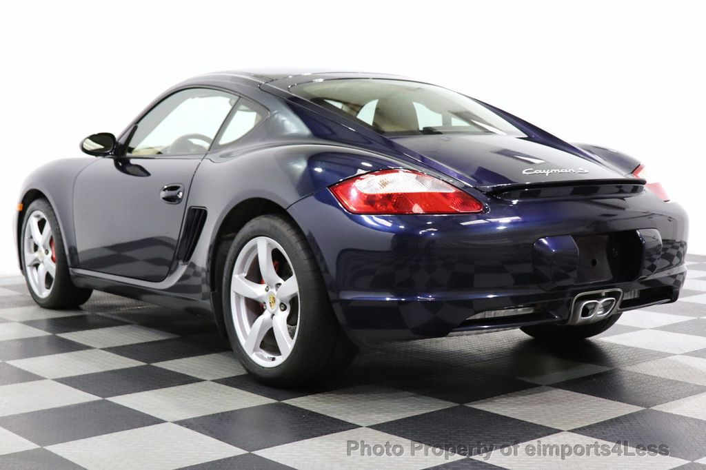 2006 Porsche Cayman CERTIFIED CAYMAN S AUTO HEATED SEATS BOSE - 18587056 - 38