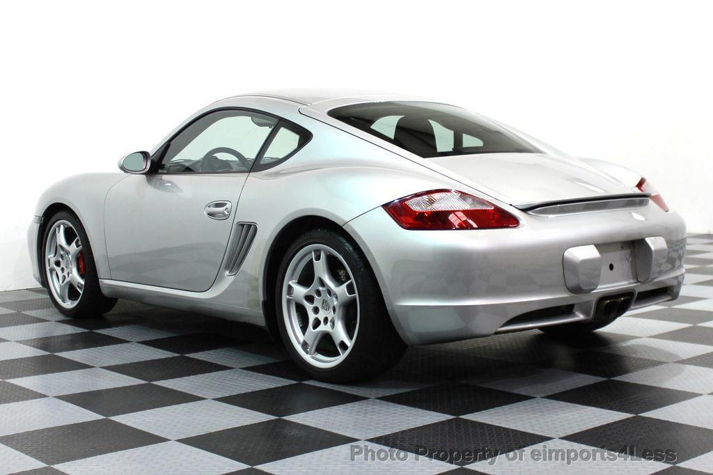 2006 Porsche Cayman CERTIFIED CAYMAN S COUPE 6 SPEED SPORT CHRONO    15819696   50