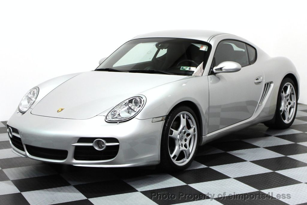 2006 used porsche cayman certified cayman s coupe 6 speed sport
