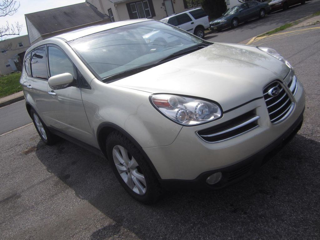 2006 used subaru b9 tribeca tribeca awd 3 0l at contact us rh nj car wire ebizautos com White 2006 Subaru Tribeca White 2006 Subaru Tribeca