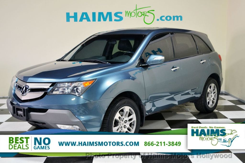 2007 Used Acura Mdx 4wd 4dr Tech Pkg At Haims Motors Serving Fort