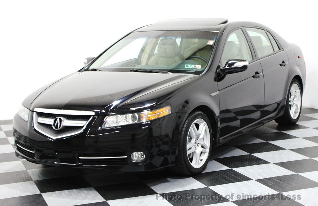 2007 Acura TL 4dr Sedan Automatic Navigation - 16417223 - 0