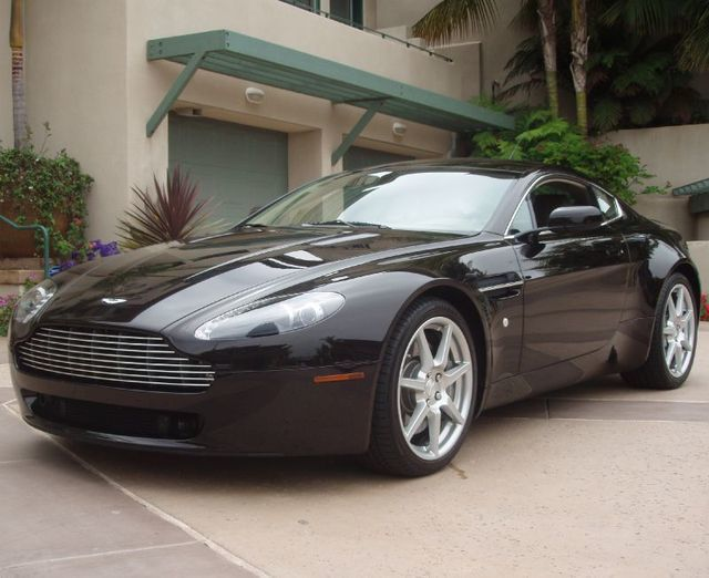 Used Aston Martin Vantage At Sports Car Company Inc Serving - 2007 aston martin v8 vantage