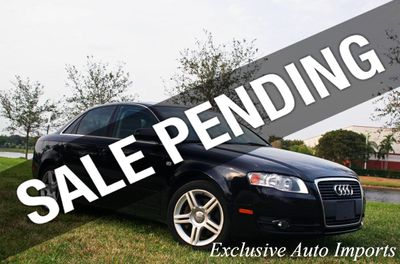 2007 Audi A4 2007 AUDI A4 2.0T SEDAN B7 2.0L TURBO UPGRADED!