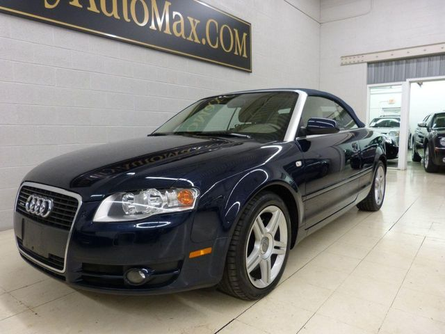 2007 Used Audi A4 20t Cabriolet Quattro At Luxury Automax Serving