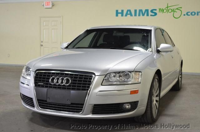 Used Audi A Dr Sdn At Haims Motors Serving Fort Lauderdale - 2007 audi a8