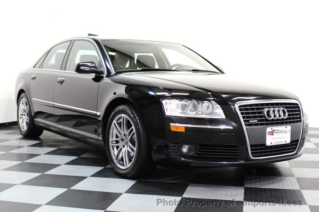Used Audi A A L V Quattro AWD CAMERA NAVIGATION At - 2007 audi s8