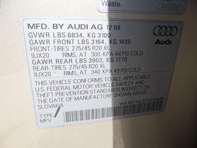 2007 Audi Q7 quattro 4dr 3.6L Premium - Click to see full-size photo viewer