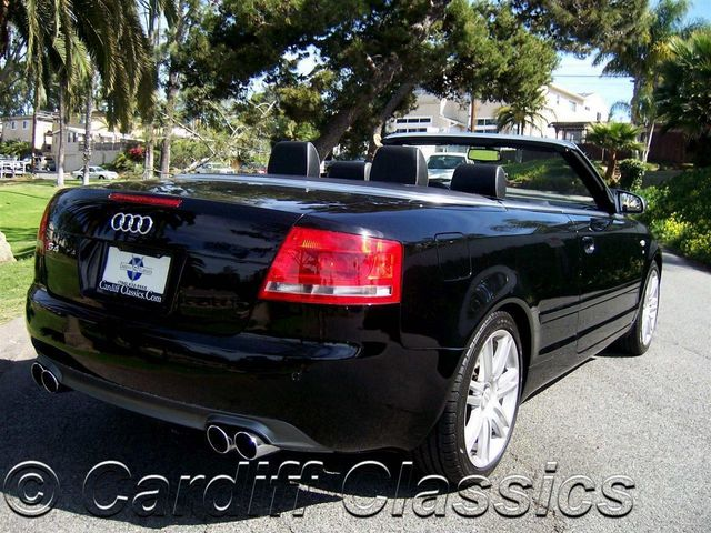 2007 Used Audi S4 Cabriolet at Cardiff Clics Serving Encinitas ...  Audi S Cabriolet Convertible on audi a3 cabriolet convertible, 2012 bmw 3 series convertible, 2008 audi convertible, 2007 audi a4 s line convertible, audi 4 door convertible, 2007 mitsubishi eclipse gt convertible,