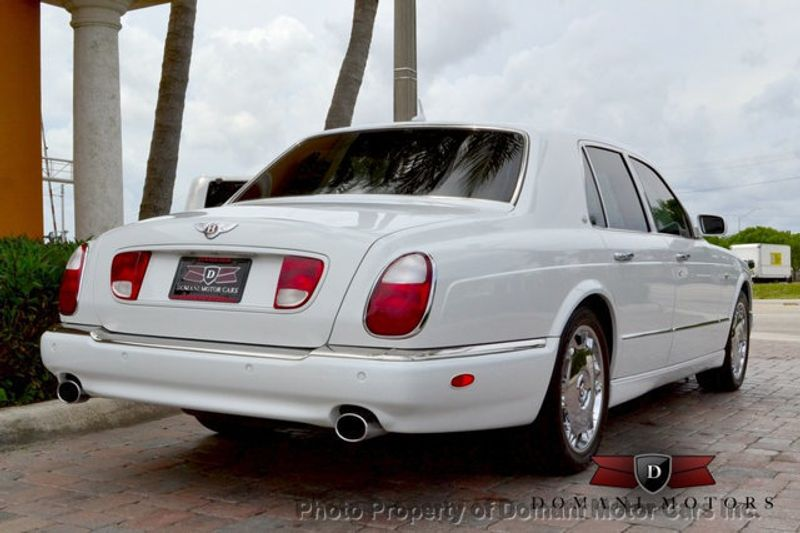 2007 Bentley Arnage Stunning White Arnage w/ Magnolia & Auburn interior - 16319383 - 22