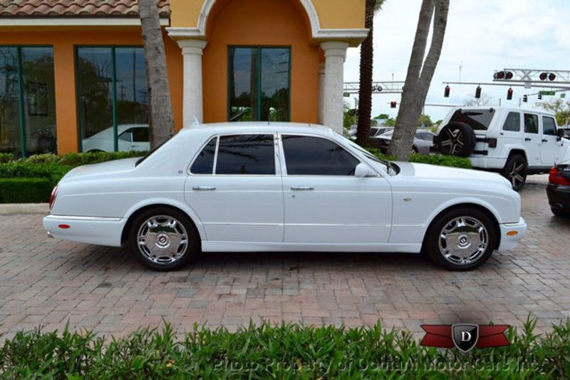 2007 Bentley Arnage Stunning White Arnage w/ Magnolia & Auburn interior - 16319383 - 3