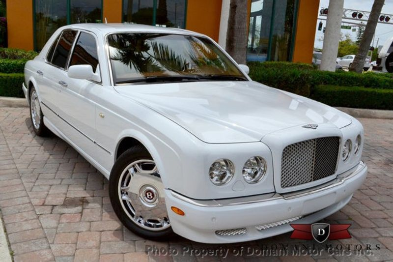 2007 Bentley Arnage Stunning White Arnage w/ Magnolia & Auburn interior - 16319383 - 8