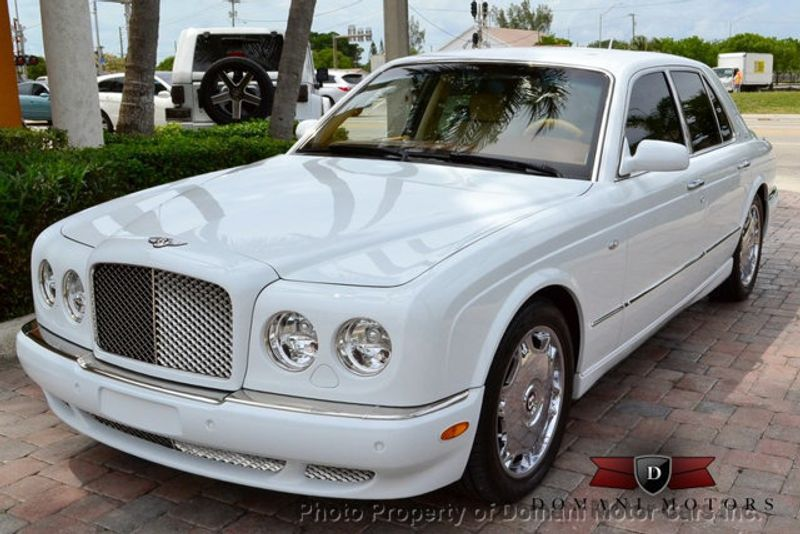 2007 Bentley Arnage STUNNING WHITE ARNAGE w/MANOLIA & AUTUMN HIDES & MAPLE VENEERS! - 16319383 - 15
