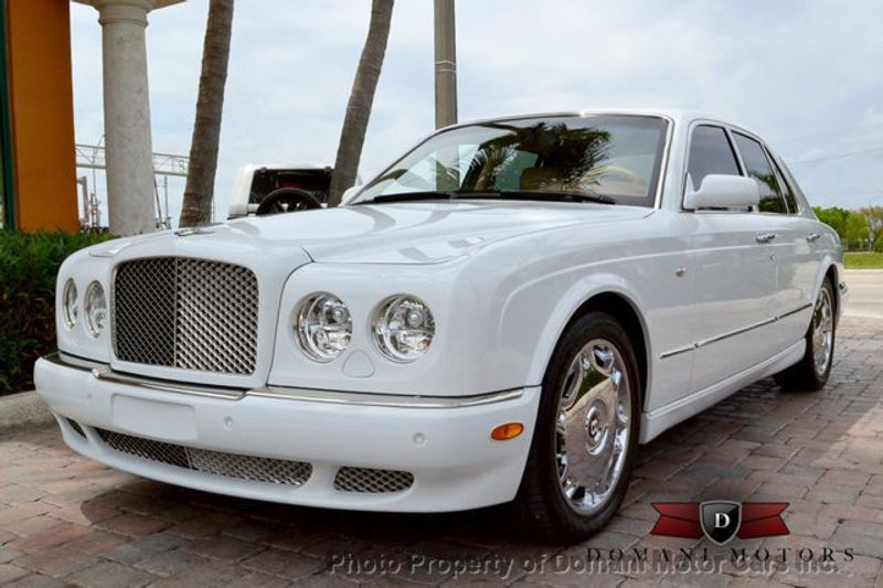 2007 Bentley Arnage STUNNING WHITE ARNAGE w/MANOLIA & AUTUMN HIDES & MAPLE VENEERS! - 16319383 - 16