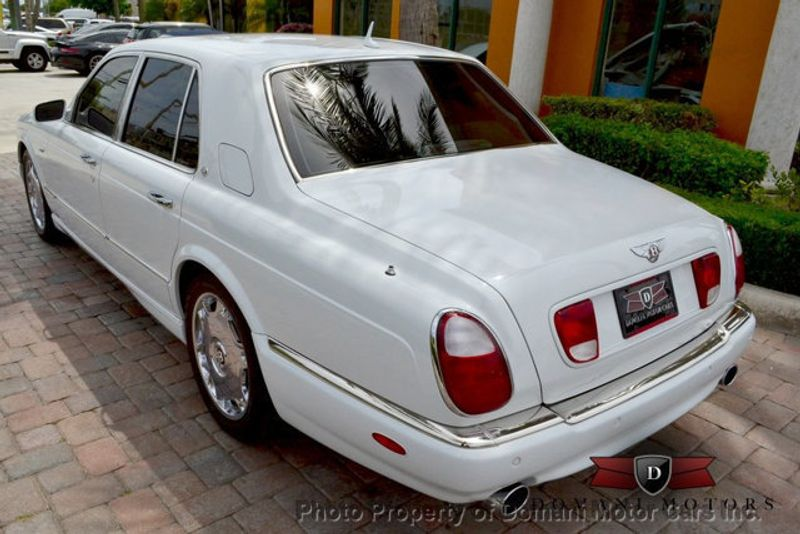 2007 Bentley Arnage STUNNING WHITE ARNAGE w/MANOLIA & AUTUMN HIDES & MAPLE VENEERS! - 16319383 - 17