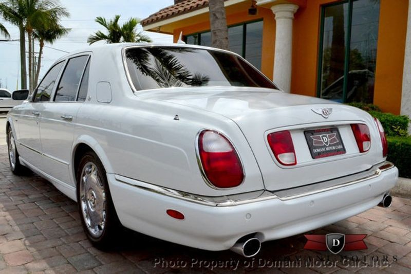 2007 Bentley Arnage STUNNING WHITE ARNAGE w/MANOLIA & AUTUMN HIDES & MAPLE VENEERS! - 16319383 - 18