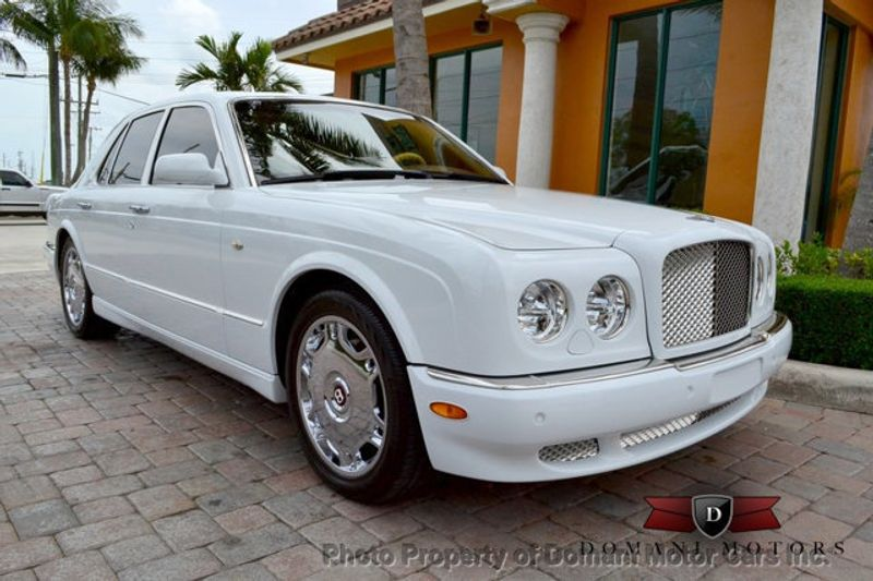 2007 Bentley Arnage STUNNING WHITE ARNAGE w/MANOLIA & AUTUMN HIDES & MAPLE VENEERS! - 16319383 - 1
