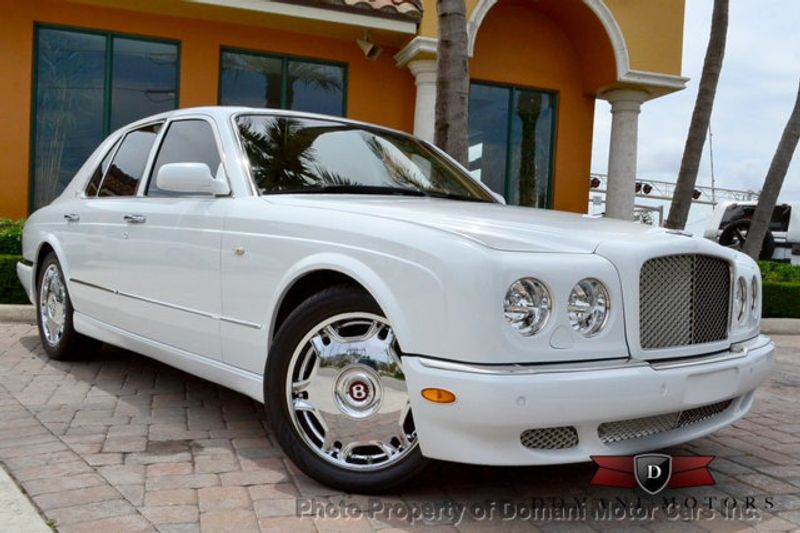 2007 Bentley Arnage STUNNING WHITE ARNAGE w/MANOLIA & AUTUMN HIDES & MAPLE VENEERS! - 16319383 - 2