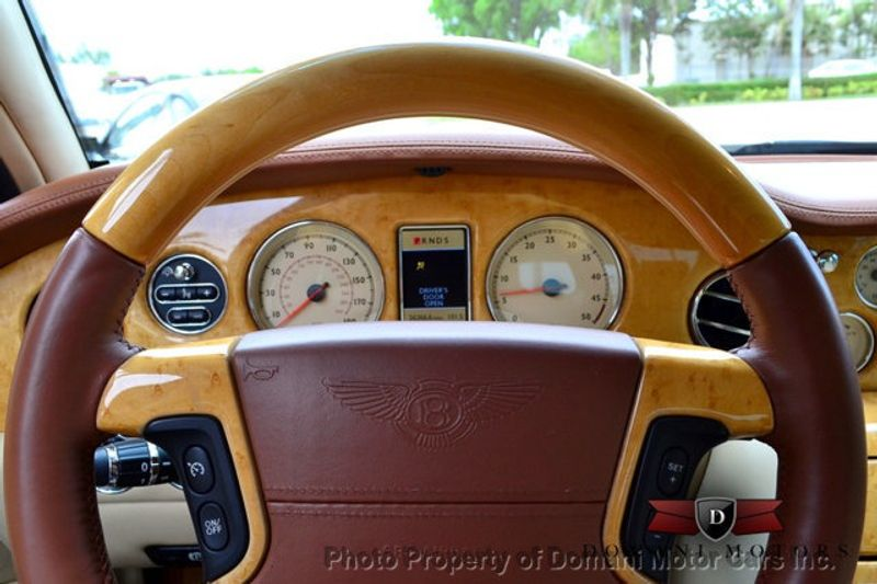 2007 Bentley Arnage STUNNING WHITE ARNAGE w/MANOLIA & AUTUMN HIDES & MAPLE VENEERS! - 16319383 - 32
