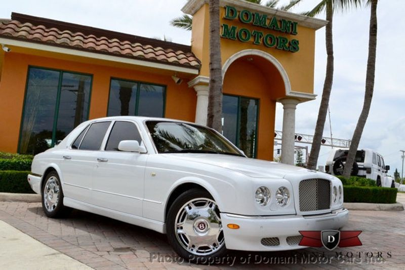 2007 Bentley Arnage STUNNING WHITE ARNAGE w/MANOLIA & AUTUMN HIDES & MAPLE VENEERS! - 16319383 - 4