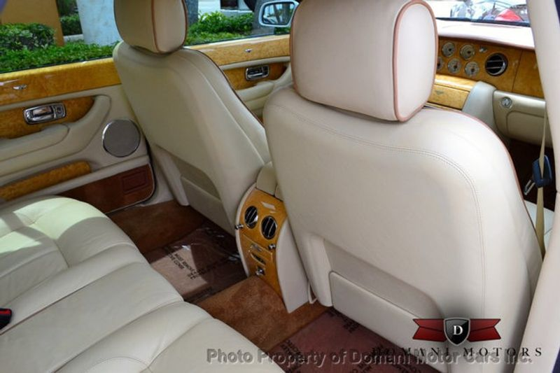 2007 Bentley Arnage STUNNING WHITE ARNAGE w/MANOLIA & AUTUMN HIDES & MAPLE VENEERS! - 16319383 - 50