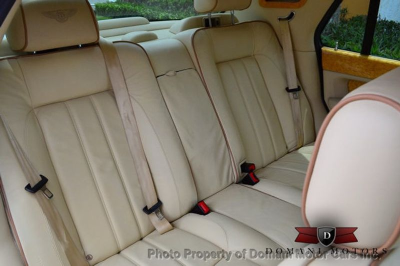 2007 Bentley Arnage STUNNING WHITE ARNAGE w/MANOLIA & AUTUMN HIDES & MAPLE VENEERS! - 16319383 - 52