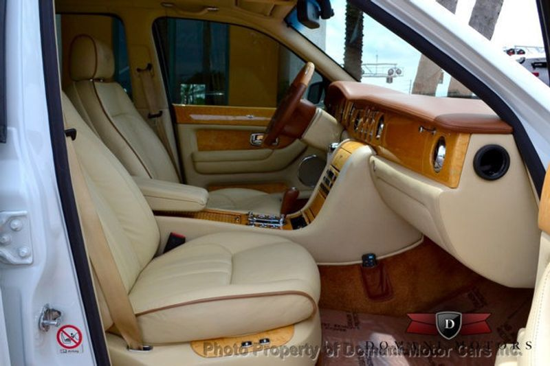 2007 Bentley Arnage STUNNING WHITE ARNAGE w/MANOLIA & AUTUMN HIDES & MAPLE VENEERS! - 16319383 - 55