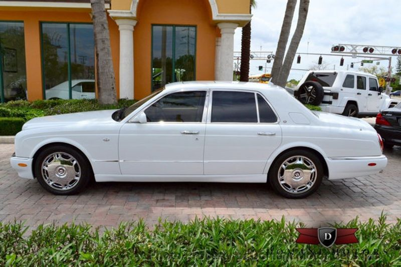 2007 Bentley Arnage STUNNING WHITE ARNAGE w/MANOLIA & AUTUMN HIDES & MAPLE VENEERS! - 16319383 - 5