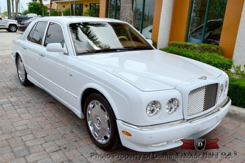 2007 Bentley Arnage STUNNING WHITE ARNAGE w/MANOLIA & AUTUMN HIDES & MAPLE VENEERS! - 16319383 - 7