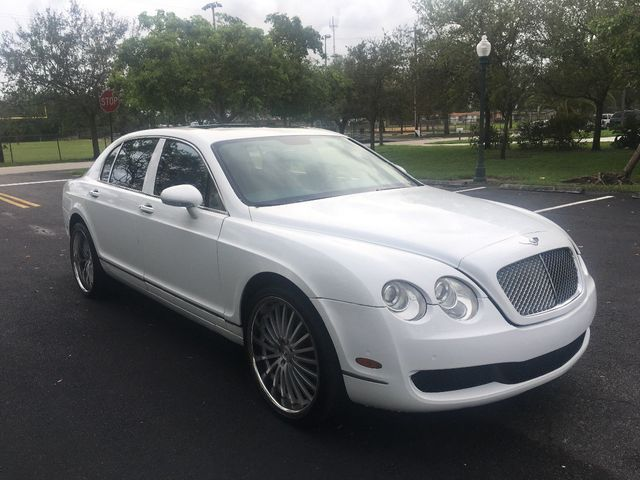 2007 used bentley continental flying spur 4dr sedan at a luxury autos serving miramar fl iid. Black Bedroom Furniture Sets. Home Design Ideas