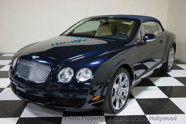 2007 used bentley continental gt 2dr convertible at haims motors