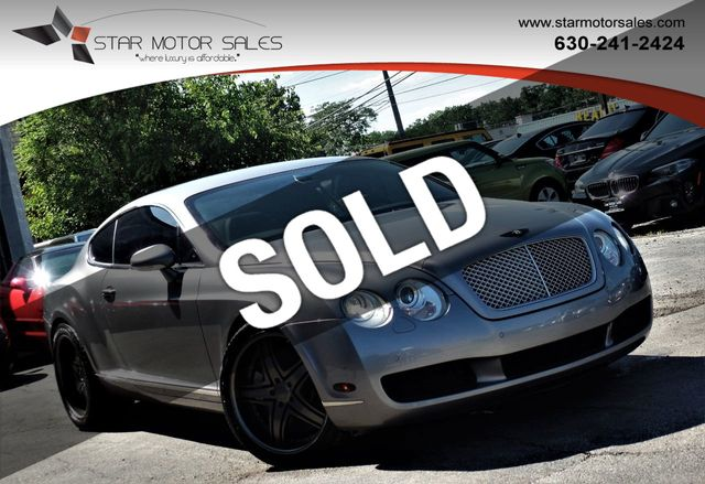2007 bentley continental gt 2dr coupe coupe for sale downers